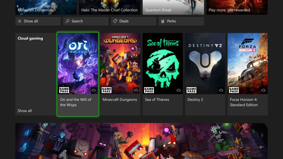 Cloud Gaming Xbox Gamescom 2021