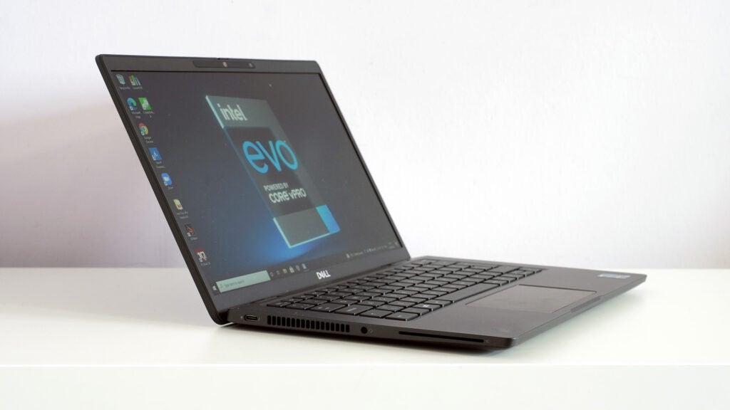 Dell Latitude 7320 on desk