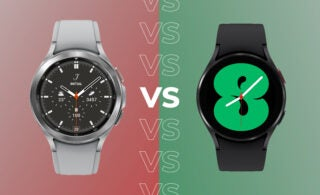 Comparing the Galaxy Watch 4 with the more expensive Galaxy Watch 4 Classic