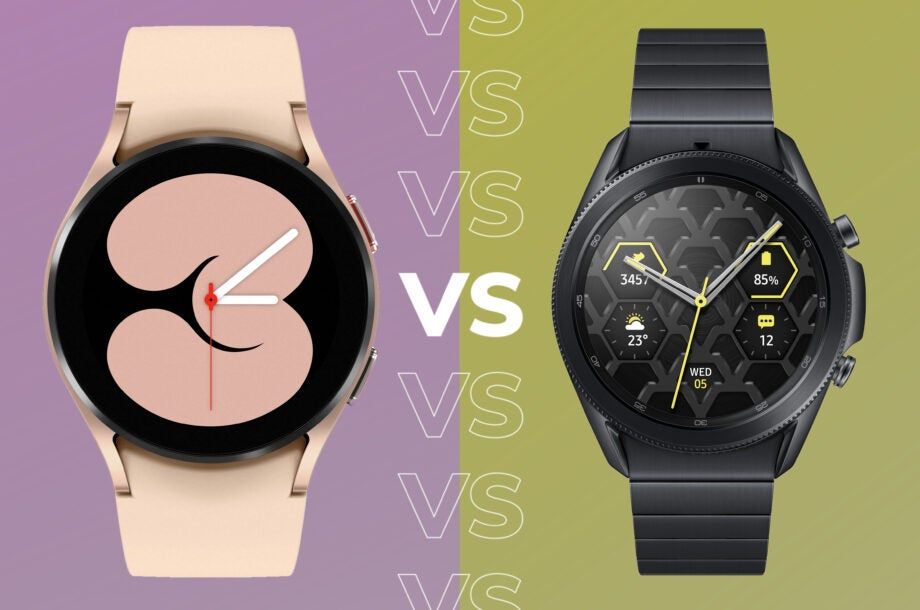 A look at how the Galaxy Watch 4 compares with the Galaxy Watch 3