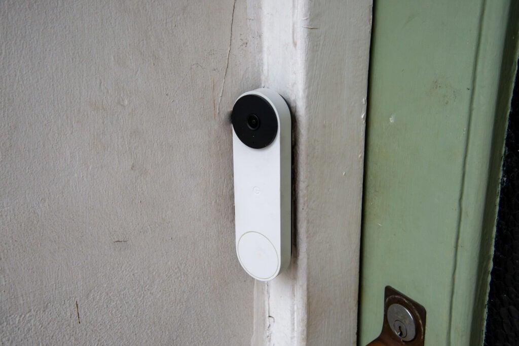 Nest Doorbell (battery) hero