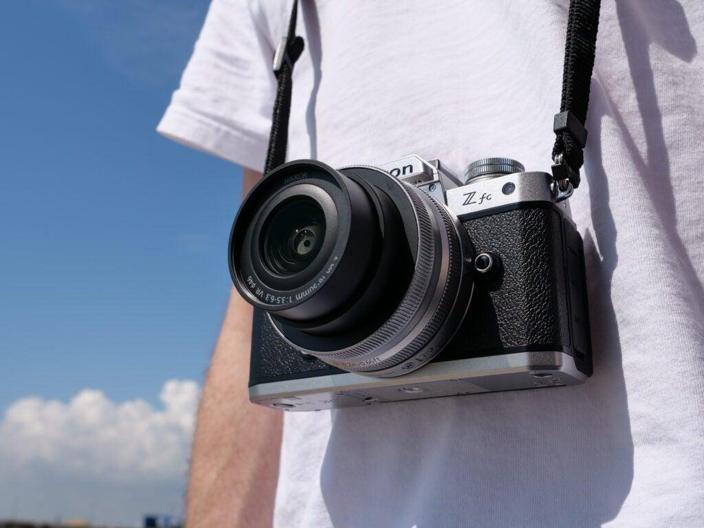Nikon ZFC sample image being used