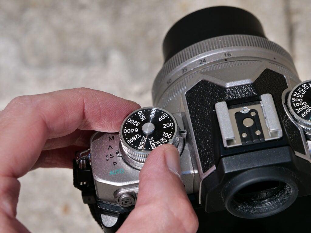 Nikon ZFC sample image dials
