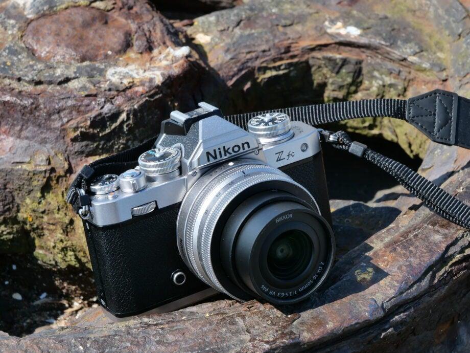 Nikon ZFC sample image front and angled