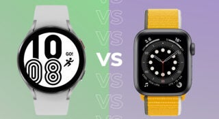 Comparing the Galaxy Watch 4 with the Apple Watch 6