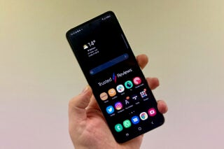 Samsung Galaxy Z Flip 3 open