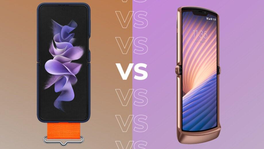Samsung Z Flip 3 VS Motorola Razr 5G
