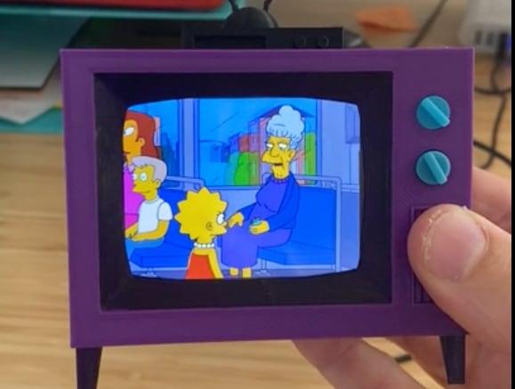 Simpsons Raspberry Pi TV