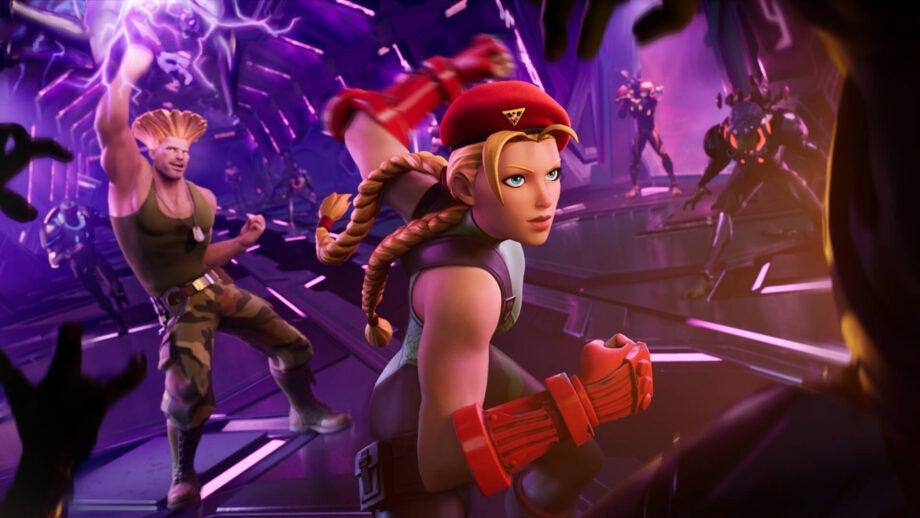 Street Fighter Fortnite Loading Screen 2