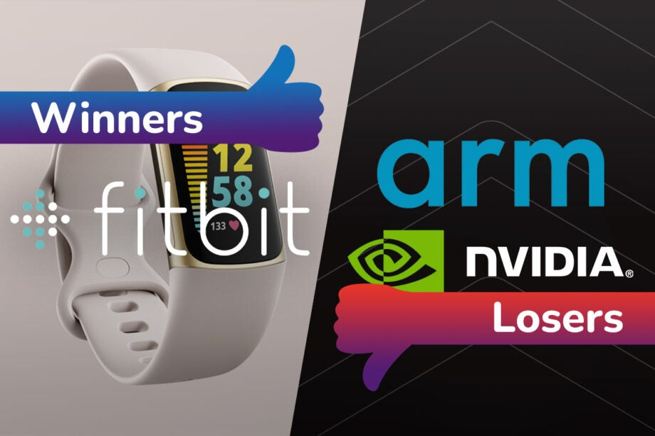 Winners and losers Fitbit and Nvidia
