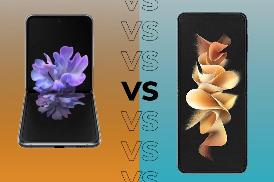 Samsung Galaxy Z Flip 5G VS Z Flip 3