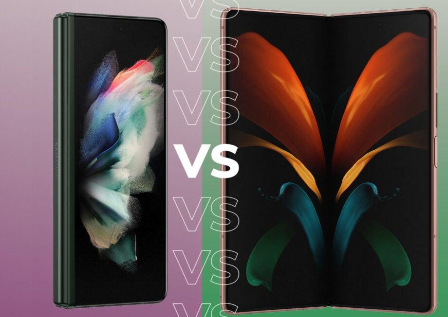 Samsung Galaxy Z Fold 2 vs Z Fold 3