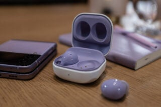 Samsung Galaxy Buds front on
