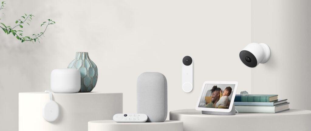 Nest product family Cam Battery Doorbell