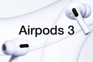 AirPods 3 mock-up