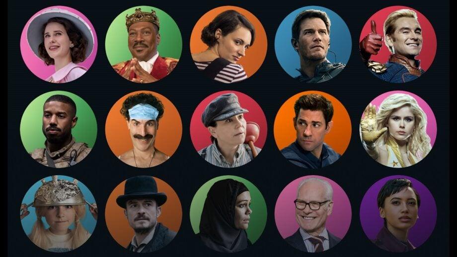 Amazon Prime Video profile images