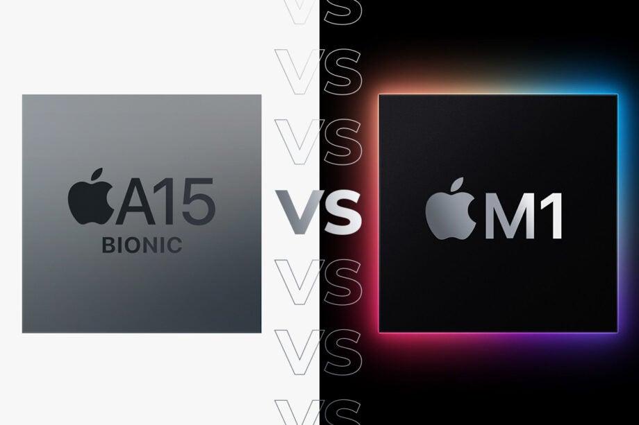 Apple M1 vs A15 Bionic