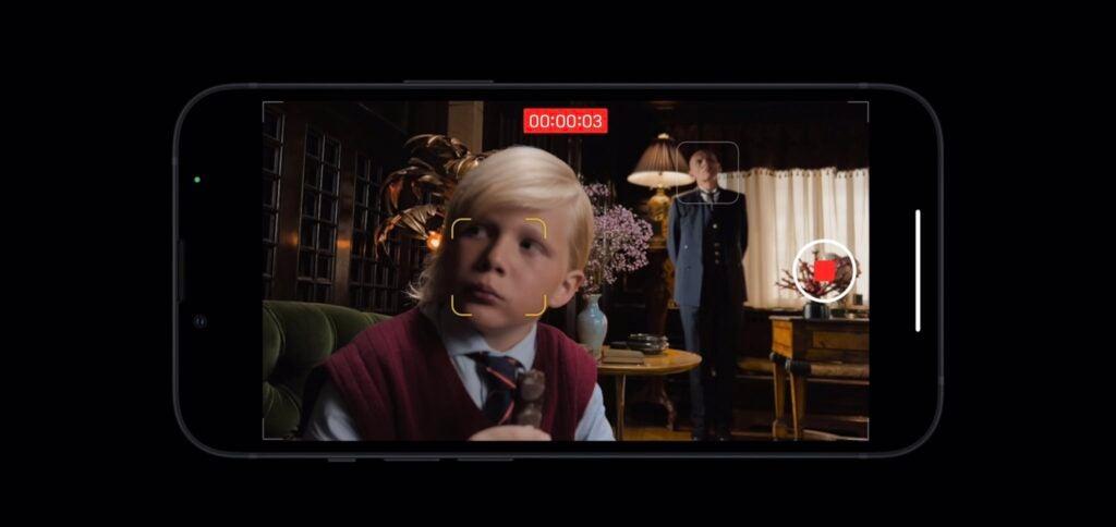 Modo cine del iPhone 13