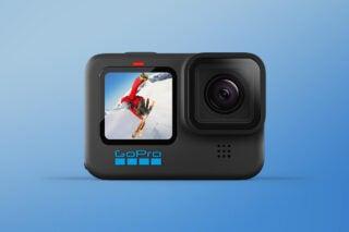 Hero image for the GoPro Hero 10 Black action camera