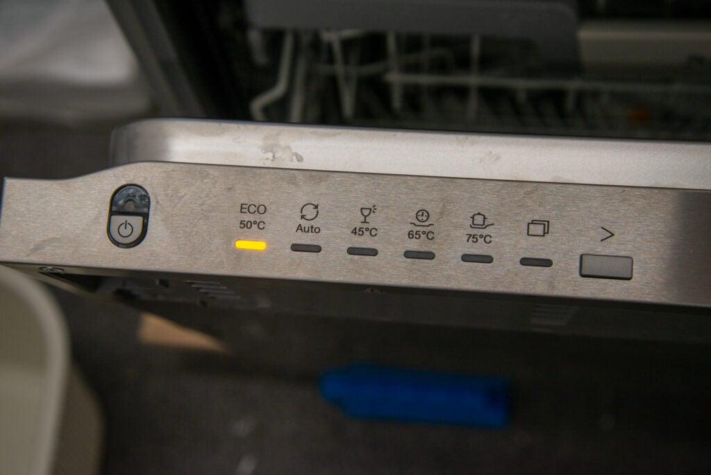 Miele G 7160 SCVi AutoDos programme selector