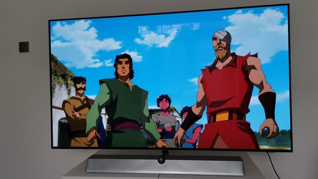 Philips 65OLED936 with He-Man
