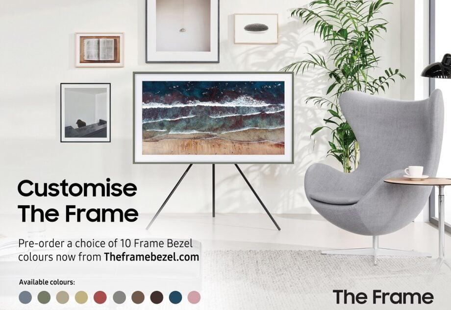 Samsung The Frame bezel customisation