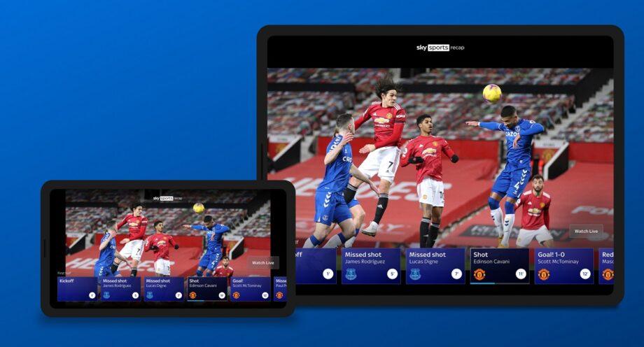 Sky Go Sky Sports Recap Tablet and Phone