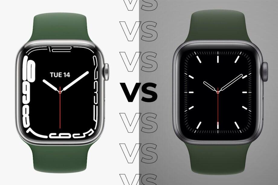 Apple Watch 7 vs Apple Watch SE