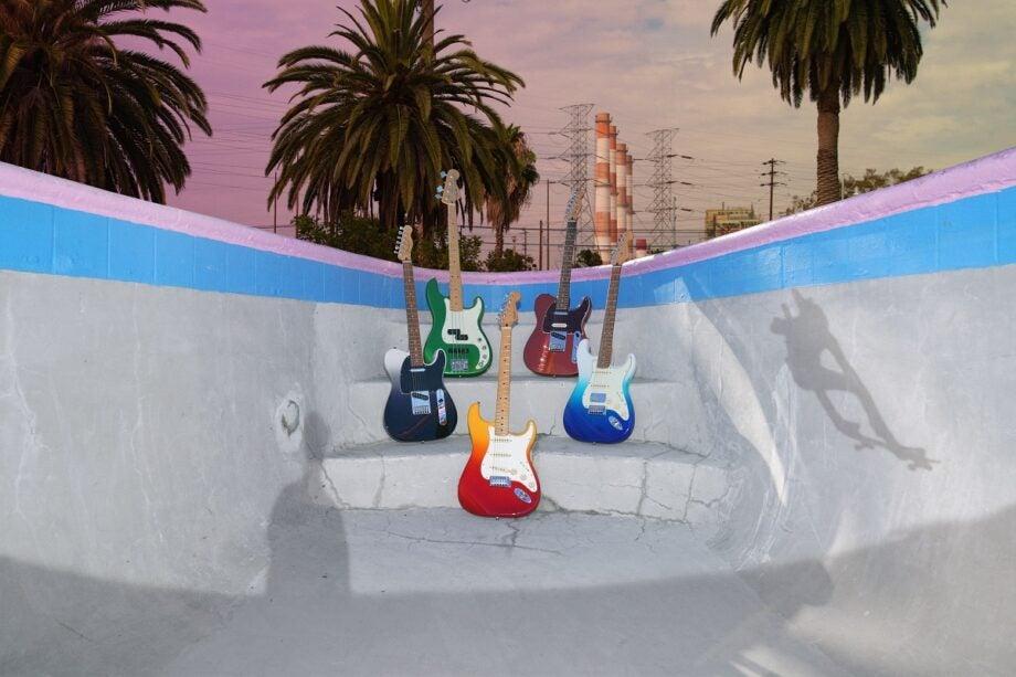 Fender Player Plus range group shot