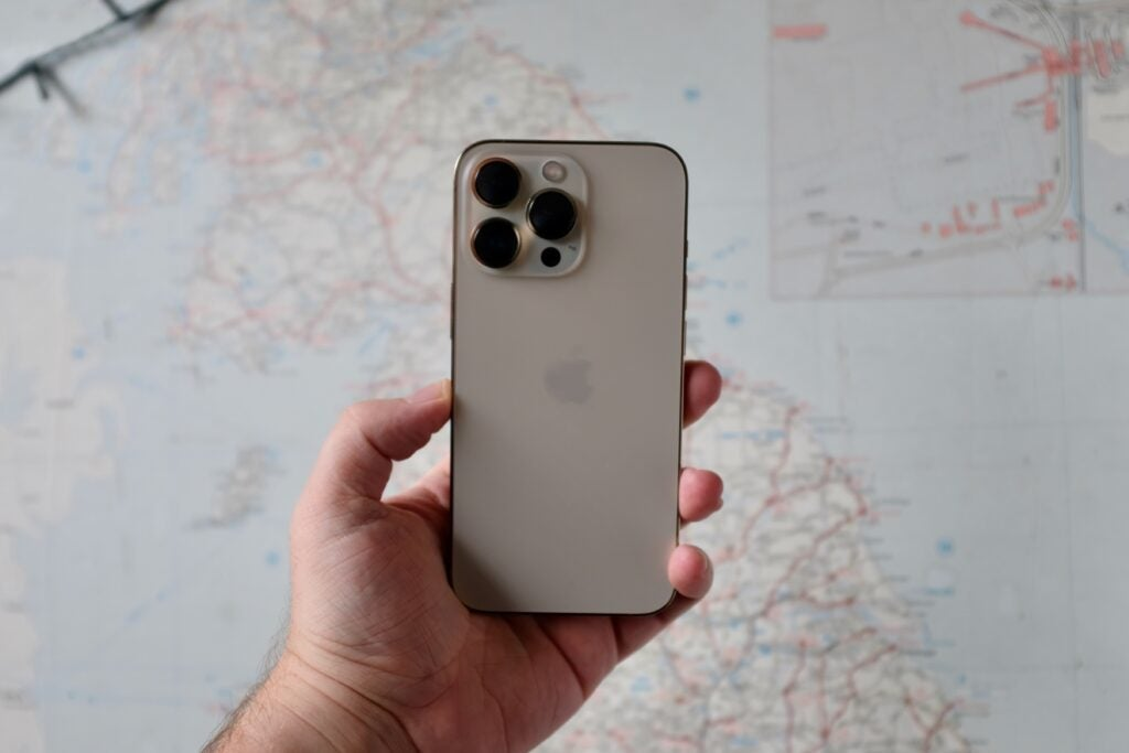 iPhone 13 Pro back in gold