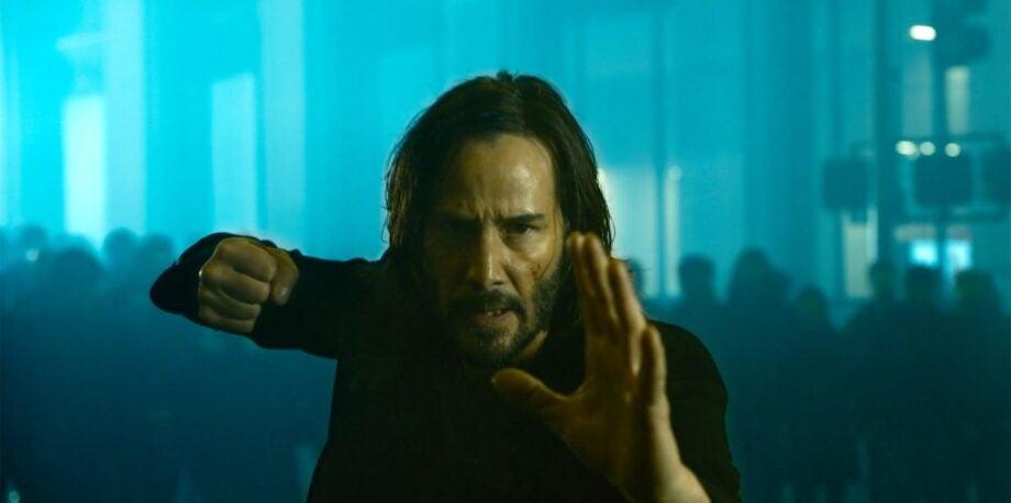 The Matrix 4 Keanu Reeves teaser