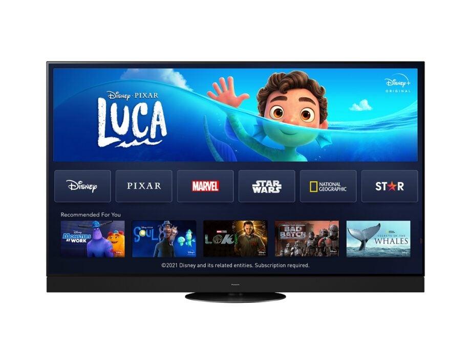 Disney plus on Panasonic TVs