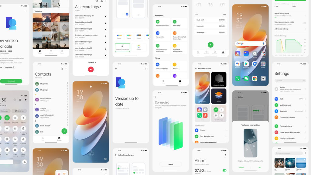Oppo Color12 os