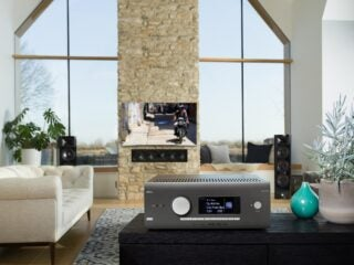 Arcam AVR5 receiver streaming Tidal