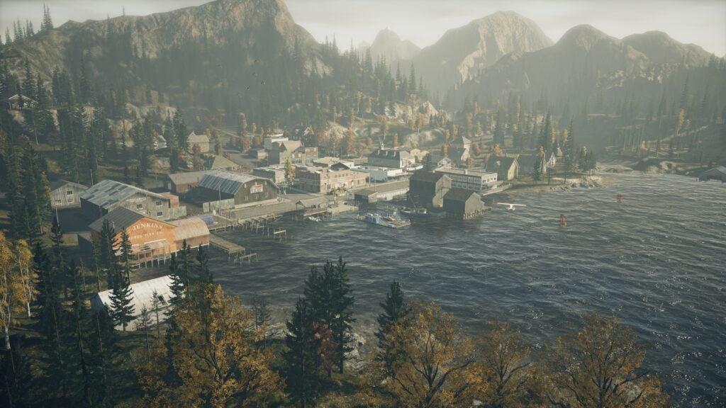 Alan Wake Remastered town