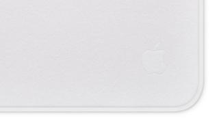 A shot of Apple's Polishing Cloth
