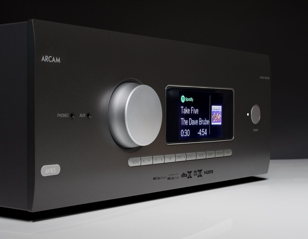 Arcam AVR5 streaming features