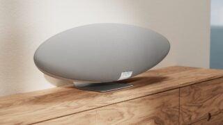 Bowers & Wilkins Zeppelin pearl grey finish