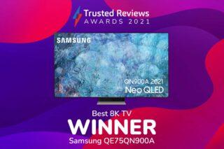 TR Awards 2021 Best 8K TV winner