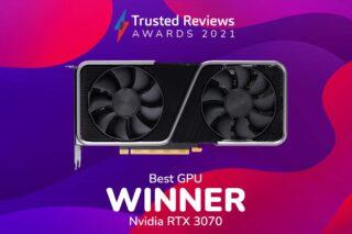TR Awards 2021 Best Graphics Card winner