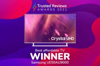 TR Awards 2021 Best Affordable TV winner