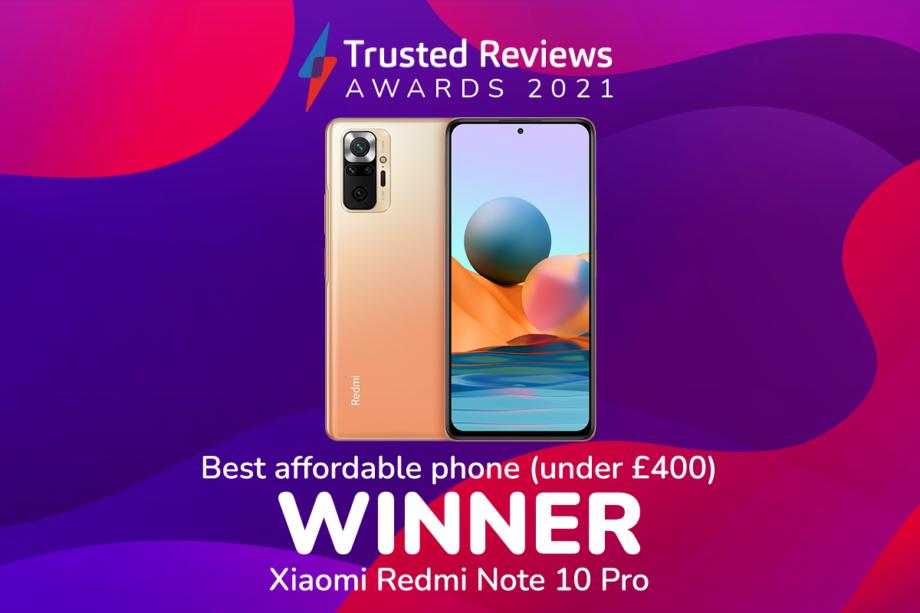 TR Awards 2021 best affordable phone winner
