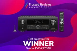 TR Awards 2021 Best Amp/Receiver winner