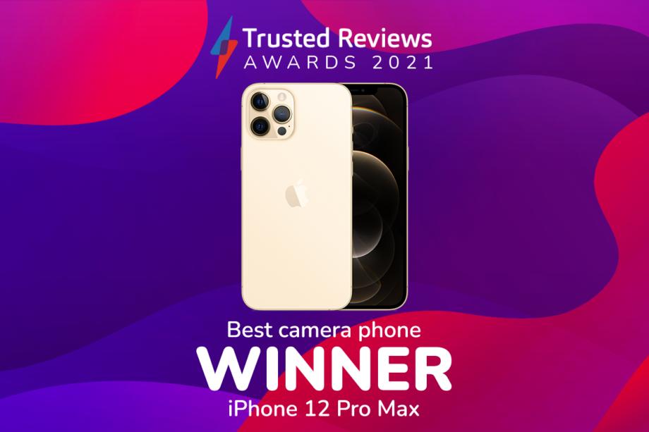 TR Awards 2021 best camera phone winner