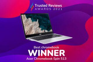 TR Awards best chromebook winner