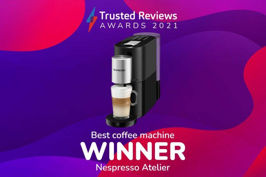TR Awards 2021 best coffee machine winner