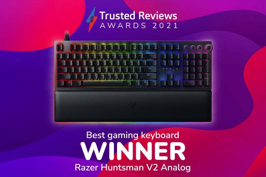 TR Awards 2021 best gaming keyboard winner