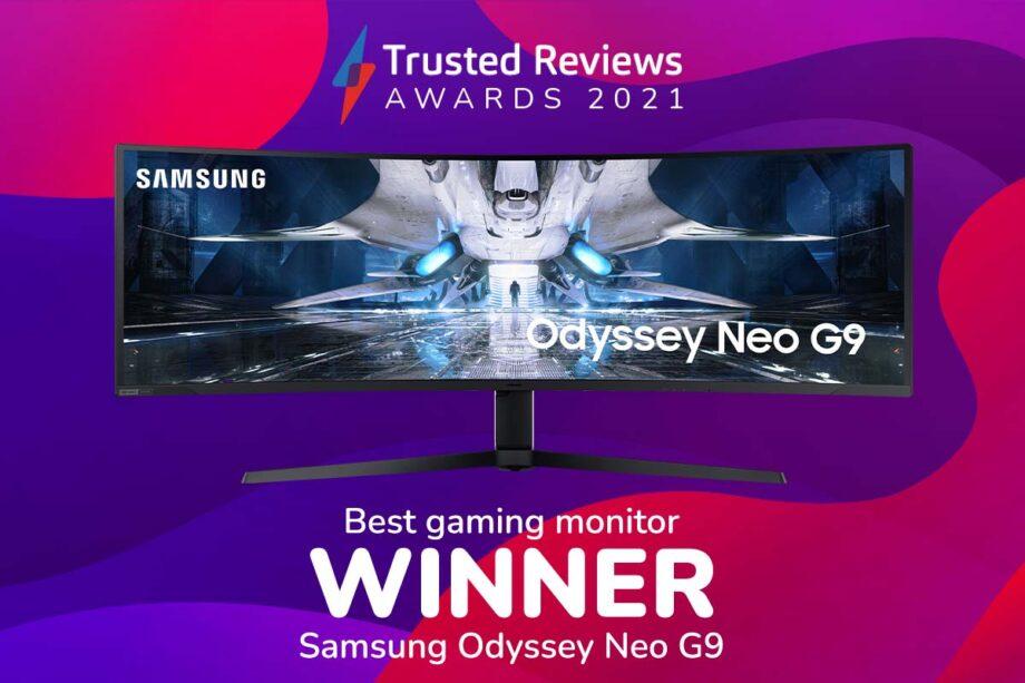 TR Awards 2021 best gaming monitor winner