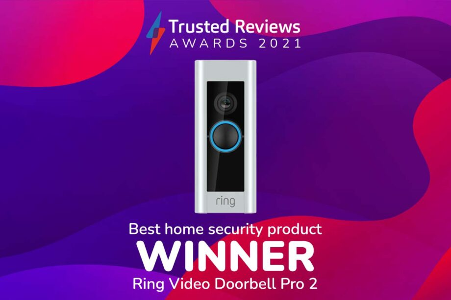 TR Awards 2021 Best Home Security Product winner