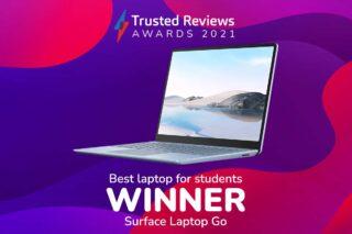 TR Awards 2021 best student laptop winner